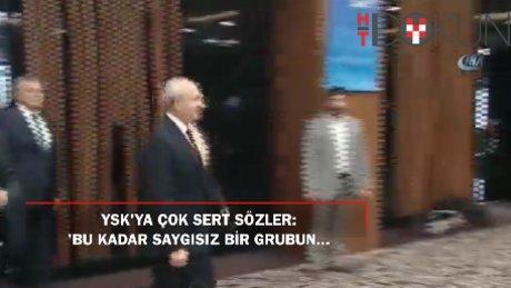 """Kılıçdaroğlu: """"Bu kadar saygısız bir grubun YSK'da kümelendiğini hiç düşünemedik"""""""