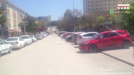 Trafik kurallarının tersine döndüğü sokak!
