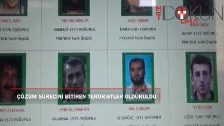 'Çözüm Süreci'ni bitiren 3 saldırının faili teröristler öldürüldü