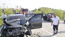 Kocaeli 3 araç çarpıştı: 2 ölü, 5 yaralı