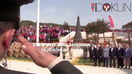 Çanakkale Kara Savaşları'nın 102. yıl dönümüne Kireçtepe'de anma