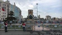 1 Mayıs sabahı Taksim ve Bakırköy'den manzaralar
