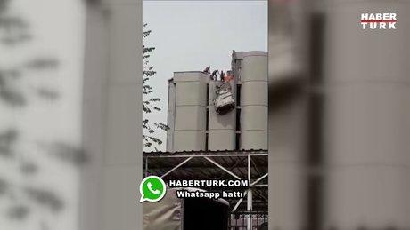 1 Mayıs'ta güvenlik önlemi almadan çalışan işçiler