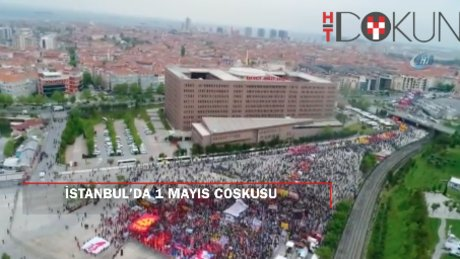 İstanbul'da 1 Mayıs: Bakırköy'de coşku, Taksim'de anma, Şişli'de olay