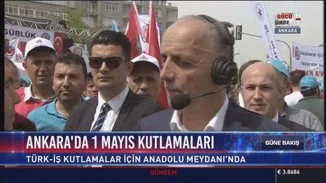 TÜRK-İŞ Başkanı Ergün Atalay, işçilerin sorunlarını dile getirdi