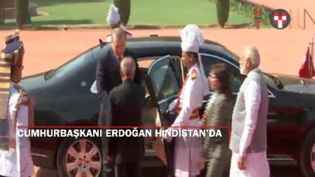 """Erdoğan: """"Hindistan'dan çok daha fazla turist bekliyoruz"""""""