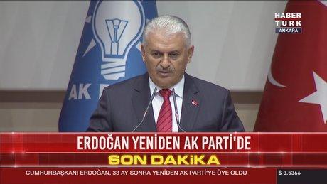 Başbakan Binali Yıldırım, grup toplantısında konuştu