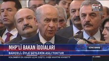 Bahçeli'den 'MHP'li bakan' iddialarına yanıt