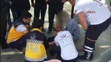 Polisin 'dur' ikazına uymayan bir kişi bacağından vuruldu