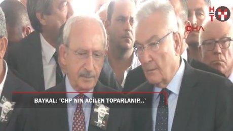 Baykal: 'CHP'nin bir an önce toparlanıp kendine gelmesine acil ihtiyaç var'