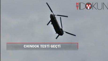 TSK'ya taze kan: Chinook