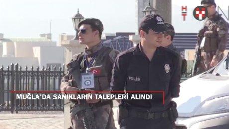 Muğla'da 15 Temmuz davası: Sanık talepleri alındı