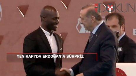 FB'li futbolcular ve Diriliş ekibinden Erdoğan'a sürpriz