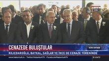 Ahmet İsvan'ın cenaze töreninde buluştular