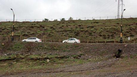 Erzurum'da 'gizemli yolun' sırrı çözüldü