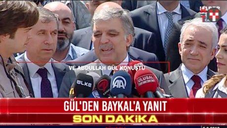 Abdullah Gül: 'Günlük siyasete girmeyeceğimi defalarca söyledim'