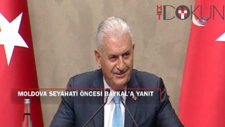 Başbakan Moldova'da: Gül sorusuna yanıt