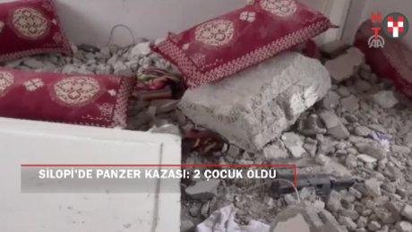 Silopi'de panzer kazası: 2 ölü