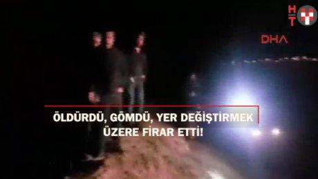 Kayseri'de şok: Sevgilisini öldürdü, gömdü cesedin yerini değiştirmek için cezaevinden kaçtı