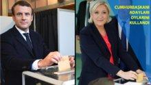 Fransa ve AB'nin kaderini belirleyecek sandıklar açıldı