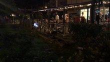 Restoranda dehşet kamerada: 1 ölü, 1 yaralı