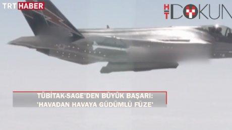 """TÜBİTAK-SAGE'den Türkiye'nin ilk """"havadan havaya"""" ateşlenen füzesi: Göktuğ"""