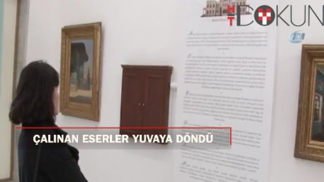 Ankara Resim ve Heykel Müzesi'nden çalınan eserler yuvasına kavuştu