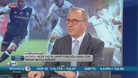 """Fatih Altaylı, """"Galatasaray olmazsa Fenerbahçe şampiyon olsun"""""""