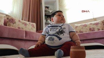 1.5 yaşındaki Yağız, 32 kilo