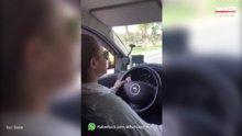 Türkiye'nin ilk sertifikalı kadın taksi şoförü