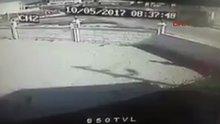 Denizli'de başsavcının öldüğü kaza anı kamerada!