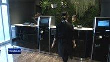 Oteldeki işçilerin hepsi robot