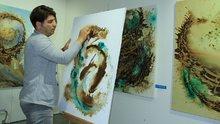 Dünyaca ünlü ressamdan 'Kahvenin Büyüsü' sergisi