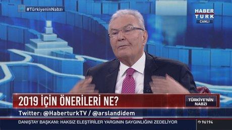 Deniz Baykal Didem Arslan'ın sorularını yanıtladı