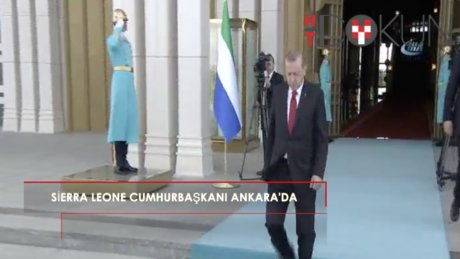 Sierra Leone Cumhurbaşkanı Koroma Ankara'da