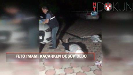 Polisten kaçan FETÖ imamı balkondan düşüp öldü