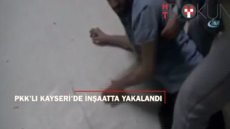 İnşaatta çalışırken yakalanan PKK'lı tutuklandı