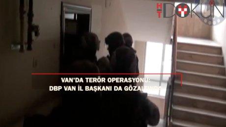 DBP Van İl Başkanı terörden gözaltında