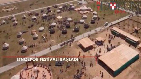 2. Etnospor Kültür Festivali başladı