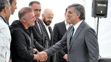 11. Cumhurbaşkan Abdullah Gül, taziyede Hilye dağıttı