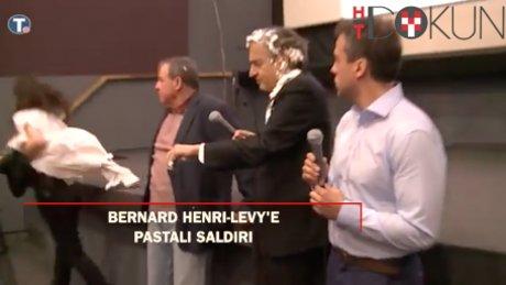 Bernard Henri-Levy'e Belgrad'da pastalı saldırı!