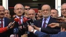 Kılıçdaroğlu, Saadet Partisi ziyareti sonrası açıklamalarda bulundu