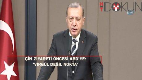 """Erdoğan:""""ABD terörün kuluçka yuvası yerine gelmemeli"""""""
