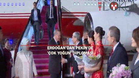 Erdoğan'dan Pekin'de yoğun diplomasi: Cipras, Xi, Şerif!