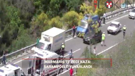 En acı tur: Marmaris'te feci kaza