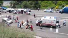 Muğla'da tur otobüsü devrildi; çok sayıda ölü ve yaralı var