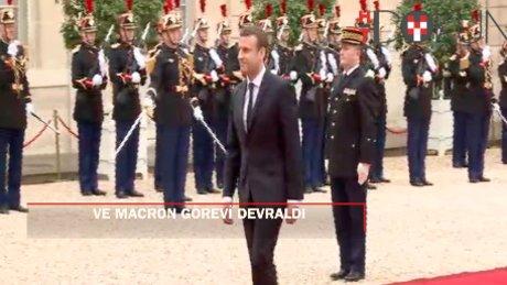 Hollande, Fransa cumhurbaşkanlığını Macron'a devretti