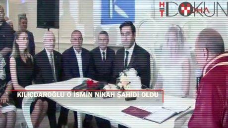Kılıçdaroğlu Gezi'de gözünü kaybeden gelinin nikah şahidi oldu