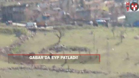 Gabar'da EYP patladı: 3 yaralı