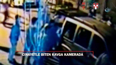 Sultangazi'de cinayetle sonuçlanan kavga anı kamerada!